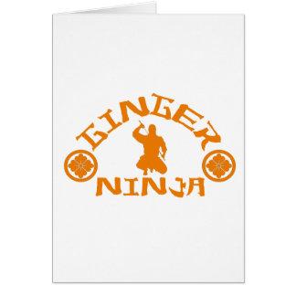 The Ginger Ninja Cards