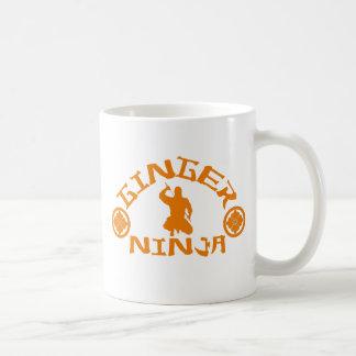 The Ginger Ninja Coffee Mug