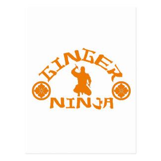 The Ginger Ninja Postcard