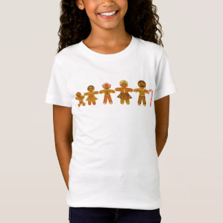 The Gingerbread Family Fitted Girl's Tshirt