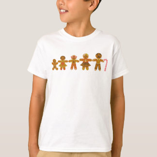 The Gingerbread Family Tshirt