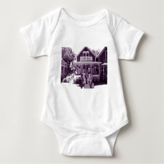 The Gingerbread House Baby Bodysuit