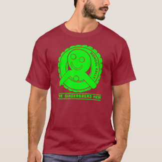 The Gingerbread Logo - Lime Green T-Shirt