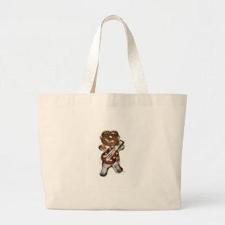 The Gingerbread Man Rocks Canvas Bag