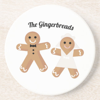 The Gingerbreads Beverage Coaster