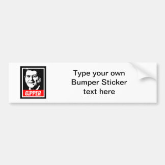 THE GIPPER 2012 BUMPER STICKER