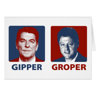 The Gipper and The Groper Greeting Card