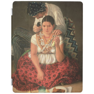 The Gipsy Boy and Girl, (oil on canvas) iPad Cover