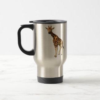 The Giraffe Stainless Steel Travel Mug