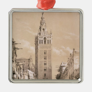 The Giralda, Seville Christmas Ornament