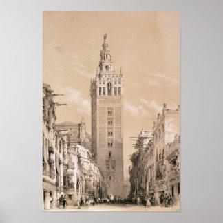 The Giralda, Seville Poster