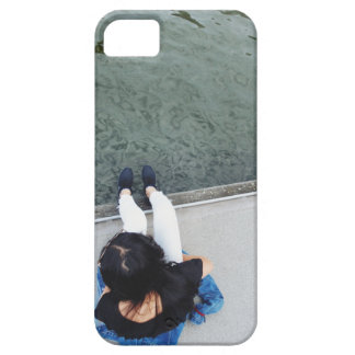 The Girl in the White Jeans iPhone 5 Case