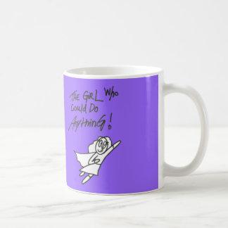 The Girl Who Could do Anything Purple Mug
