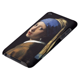 The Girl With A Pearl Earring by Johannes Vermeer iPod Touch Case