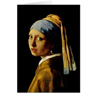 The Girl with a Turban Girl with the Pearl Earring Cards