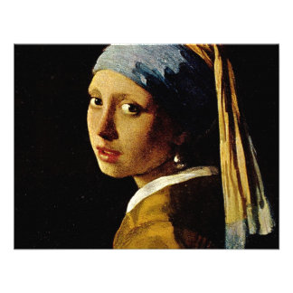 The Girl with a Turban Girl with the Pearl Earring Invitation