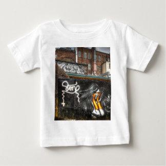 The Girl with Orange Gloves, Shoreditch Graffiti T Shirt