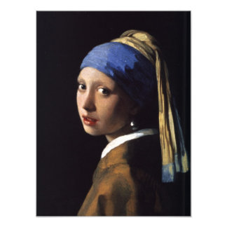 The Girl With The Pearl Earring Art Photo