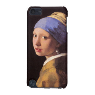 The girl with the pearl earring by Vermeer iPod Touch 5G Cases
