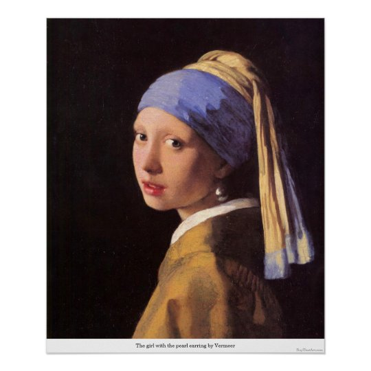 The girl with the pearl earring by Vermeer