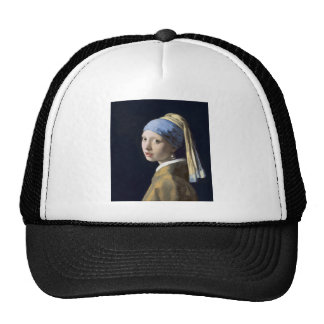 The Girl With The Pearl Earring Cap
