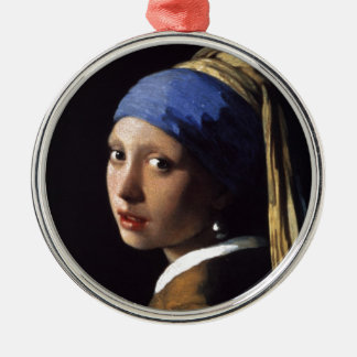The Girl With The Pearl Earring Christmas Ornament