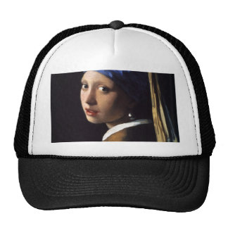 The Girl With The Pearl Earring Hats