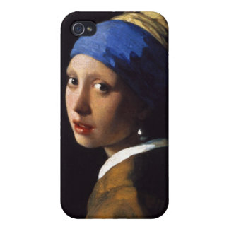 The Girl With The Pearl Earring Johannes Vermeer Cases For iPhone 4