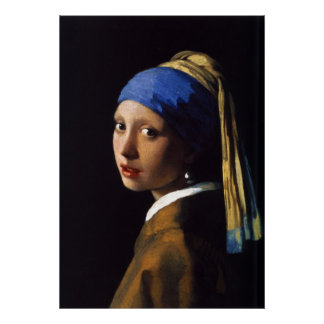 The Girl With The Pearl Earring Johannes Vermeer Poster