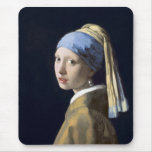 The Girl With The Pearl Earring Mouse Pads