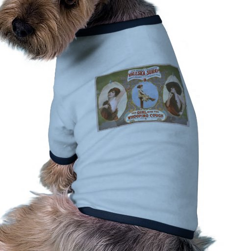 The Girl with the Whooping Cough Retro Theater Pet Clothes
