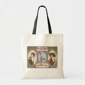 The Girl with the Whooping Cough Retro Theater Tote Bag