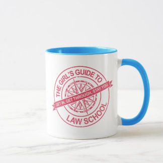 The Girl's Guide to Law School Mug