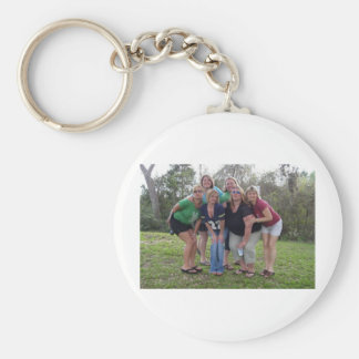 The Girls of Weimar Basic Round Button Key Ring