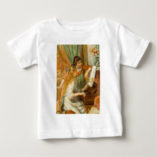 The girls who approach to the piano t-shirt