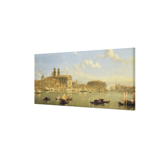 The Giudecca, Venice, 1854 (oil on canvas) Canvas Print