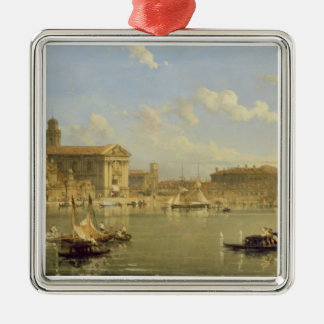 The Giudecca, Venice, 1854 (oil on canvas) Christmas Ornament