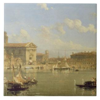 The Giudecca, Venice, 1854 (oil on canvas) Tile