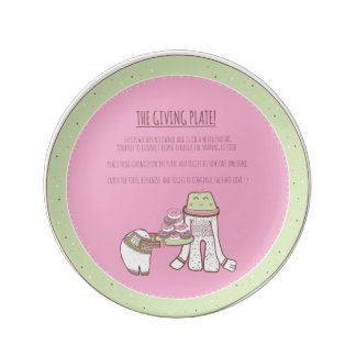 The Giving Plate (illustrated) Porcelain Plates