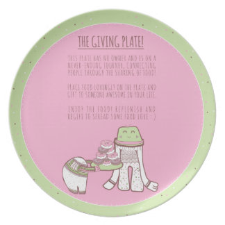 The Giving Plate Illutrated