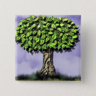 the giving tree 15 cm square badge