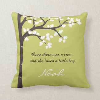 The Giving Tree Throw Pillow Throw Cushions