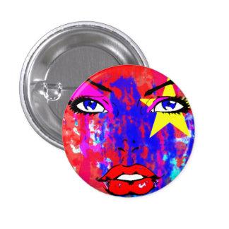 The Glamour 3 Cm Round Badge