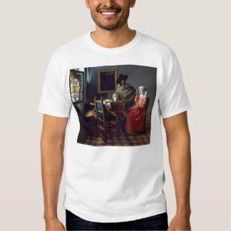 The Glass of Wine by Johannes Vermeer Tee Shirts