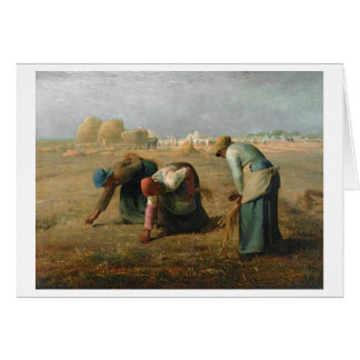 The Gleaners, 1857 Card
