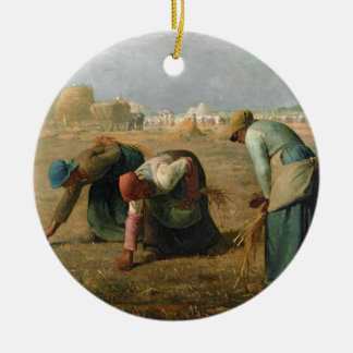 The Gleaners, 1857 Christmas Ornament