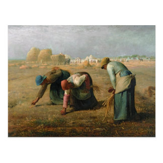 The Gleaners, 1857 Postcard