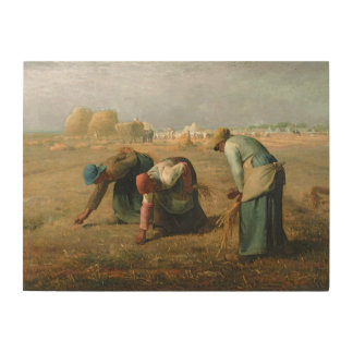 The Gleaners, 1857 Wood Wall Art