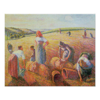 The Gleaners, 1889 Poster