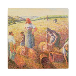 The Gleaners, 1889 Wood Coaster
